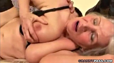 Hairy granny, Old mature, Big tit granny