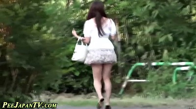 Skirt, Japanese public, Pee outdoor, Public japanese, Pee voyeur, Japanese fetish