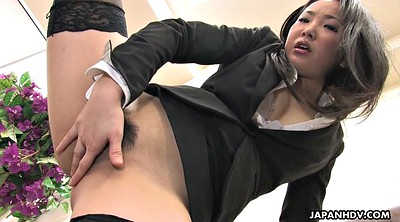 Secretary, Stockings, Japanese office, Japanese solo, Japanese stocking, Asian solo
