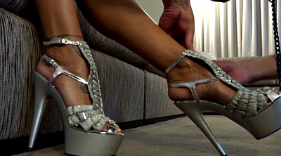 High heels, G-queen, Foot, Cage