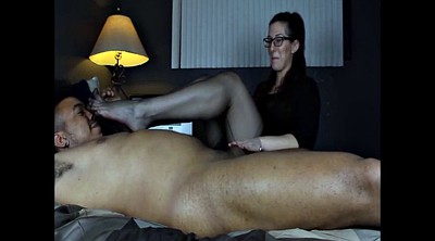 Foot job, Stocking foot, Black stocking, Stockings job, Feet job