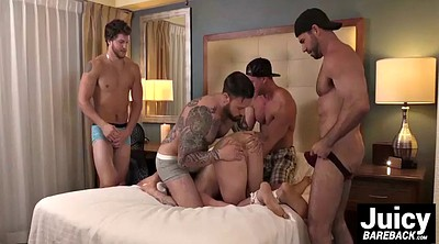 Gay group, Bound, Hot guy