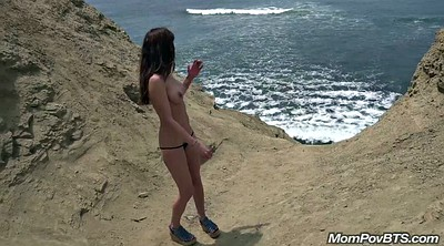 Mature pov, Beach nude