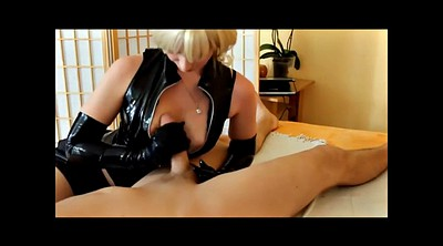 Gloves, Latex handjob, Glove