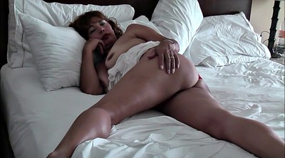 Asian mature, In bed