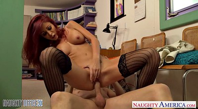 Monique alexander, Alexander, Monique, Office redhead