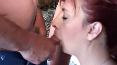 Mature facials, Mature compilation