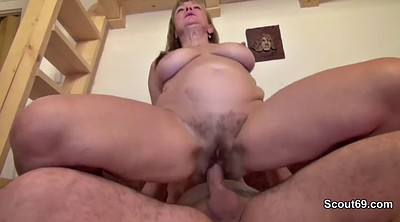 Mom, First, First time anal, Mom anale, German anal, Mom orgasm
