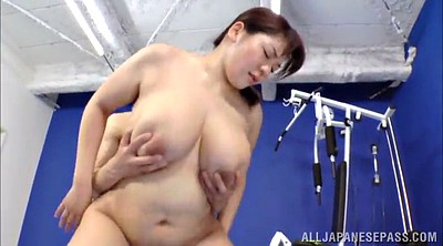 Asian gym, Hairy chubby