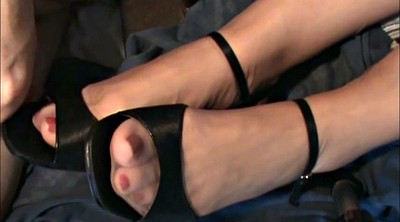 Nylon feet, Nylon foot, Shoe, Stockings foot, Feet nylon, Cum shoe