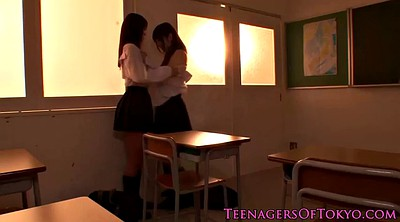 Japanese lesbian, Japanese office, Japanese schoolgirl, Asian office