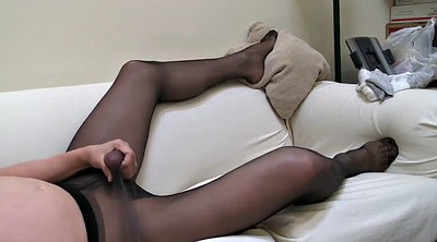 Lovely, Gay pantyhose, Dressed, Black pantyhose