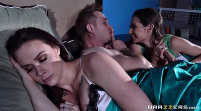 Sleep, Sleeping, Chanel preston, Wife threesome, Sleeping blowjob