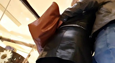 Hidden, Skirt, Leather