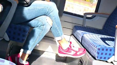 Shoe, Hidden cam, Girl feet