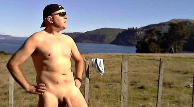 Outdoors, Gay big cock