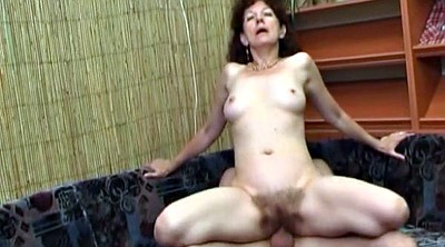 Russian milf, Red milf