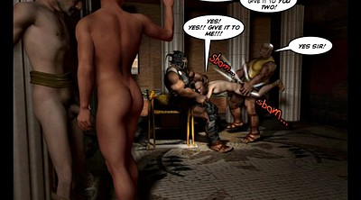 Group, Cartoons, Comic, Ancient, Gay gangbang, Anime gangbang
