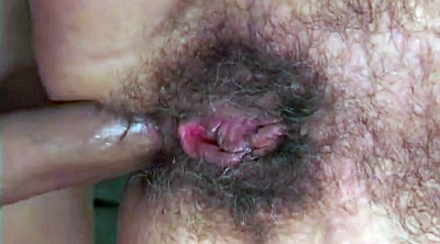 Hairy, Hairy anal, Matures, Granny anal