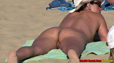 Nudist beach, Nudist, Mature couples