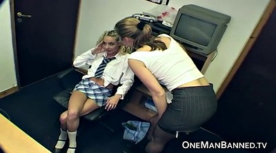 Lesbian spanking, Lesbian teacher, Cucumber, Teacher ass, Spanking ass, Spank ass