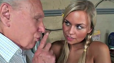 Grandpa, Catch, Young hairy, Hairy blonde, Hairy mature, Teen hairy