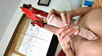Nylon, Mature nylon, Nylon masturbation