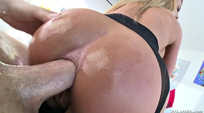 Oiled, Reverse cowgirl