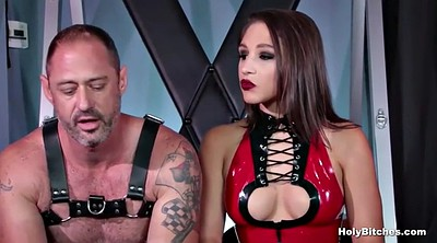 Leather fetish, Latex bdsm, First time anal