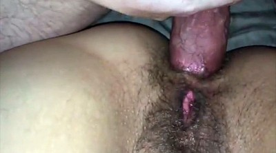 Creampie, Cream, Hairy anal, Cream pie