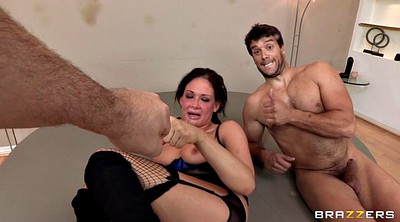 Gangbang creampie, Cum covered