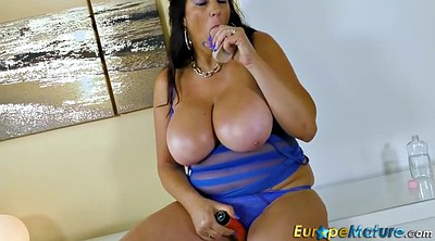 Lulu, Huge boobs, Chubby milf, Big tits granny