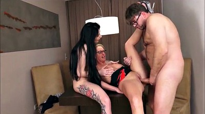 Teen bbw, Mature threesome, German threesome, German mature