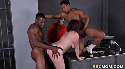 Busty mom, Jail, Green, Mom black, Mom bbc, Mom and black