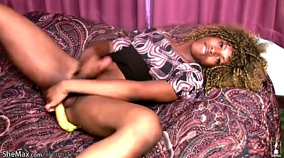 Squirting, Banana, Pantyhose sex, Black squirting