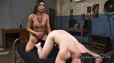 Tranny cum, Shemale asian