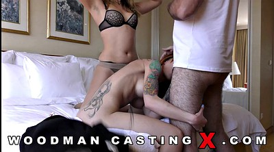 Agent, Anal casting, Threesome casting, Skank
