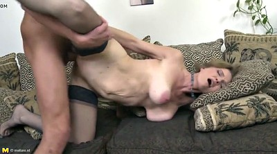 Hot mom, Mom and son, Mom sex, Mature and young