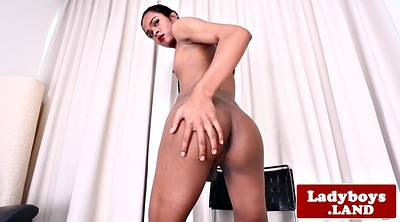 Ladyboy, Shemale, Spray, Shemale cum