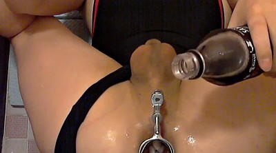 Gyno, Bdsm anal, Wide open, Solo orgasm