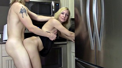 Kitchen, Creampie mom, My mom, Kitchen mom