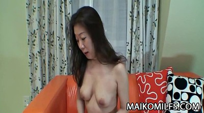 Japanese mature, Japanese milf, Asian mature, Surprise, Asian shower, Surprised
