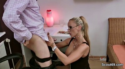 Secretary, German milf office, Fuck throat, Office boss, Boss fuck