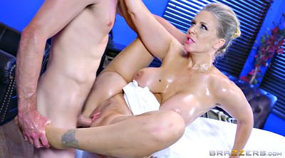 Julia ann, Oil big tits