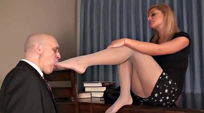 Teacher foot, Teachers, Students, Femdom foot