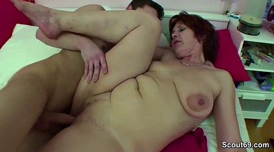 Mom and boy, Jerk, Old mom, Mom caught