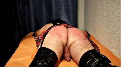 Crossdressers, Crossdresser, Spanking punishment