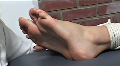 Foot worship, Tied