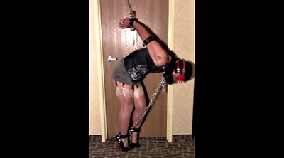 Chained, Chain, Chains, Strappado, Blindfold, In chain