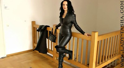 Latex, Leather pants